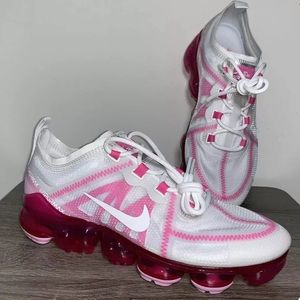 Nike Air Vapormax 2019 Pink White Shoes Size 8.5